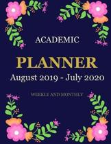 Academic Planner (August 2019 - July 2020) Weekly and Monthly