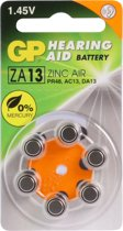 GP Batteries Hearing Aid ZA13 Single-use battery PR48 Zink-lucht 1,4 V