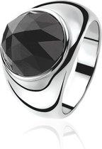 Zinzi - Zilveren Ring - Swarovski Kristal - Maat 58 (ZIR556Z58)