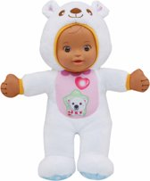 VTech Little Love Knuffelpop IJsbeer - Wit