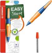 STABILO EASYergo 1.4 L ultramarine/neon oranje + 6 refills