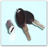 Cilinder + sleutels HSC systeem (Nr.85488)