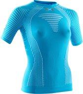 X-Bionic Running Effektor Power  Sportshirt - Maat M  - Vrouwen - blauw/wit