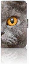 Uniek Hoesje Britse Kat voor de Samsung Galaxy Xcover 4