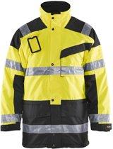 Blåkläder 4426-1997 Parka (Uitneembare voering) High Vis Geel/Zwart maat XXXL