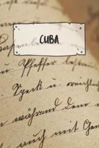 Cuba: Ruled Travel Diary Notebook or Journey Journal - Lined Trip Pocketbook for Men and Women with Lines