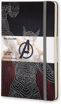Moleskine notitieboek The Avengers Thor - Large - Hard cover - Gelinieerd