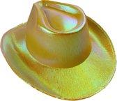 Lg-imports Cowboyhoed Glans Unisex One Size Geel
