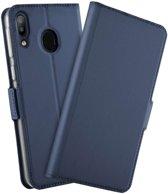 TPU Wallet hoesje voor Samsung Galaxy M20 - blauw