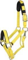Shires Halster Nylon Topaz - Yellow - pony