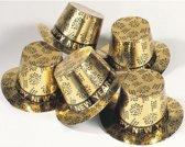 Gouden hoed Happy New Year - Oud en nieuw hoedje
