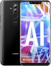 Huawei Mate 20 Lite - 64GB - dual sim - zwart