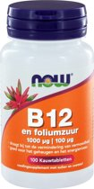Now B-12 1000 µ - 100 Kauwtabletten - Vitaminen
