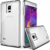 OuCase Galaxy Note 4  Ultra thin Siliconen Gel TPU Hoesje / Case/ Cover Transparant Naked Skin