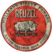 Reuzel Hf Pomade Water Soluble High Sheen - Red 340 gr