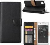 Sony Xperia XA1 Ultra - Bookcase Zwart - portemonee hoesje