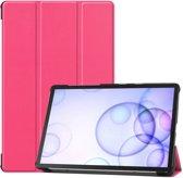 Samsung Galaxy Tab S6 Hoesje - Smart Book Case - Roze
