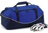 Quadra Sporttas - 30 Liter - Blauw-Wit