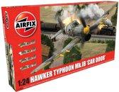 Airfix Hawker Typhoon Schaal 1:24