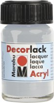 Decorlack-acryl 15 ml - Zilver metallic