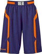 Spalding Offense Short - maat L - Navy/Orange