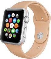 Apple watch 38mm rubberen sport bandje Walnoot
