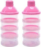 BabyDream | Melk poeder Bewaarbakjes |  Toren | Doseerdoos | Reisbox