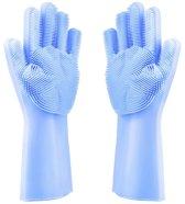 Happy Gloves Kwalitatieve Schoonmaak Handschoenen - Blauw