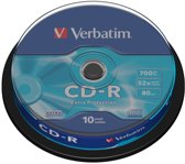 Verbatim CD-R 700MB 52X SP PROTECTION SURFACE - Rohling