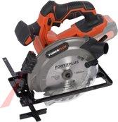 Powerplus Dual Power POWDPSET15 Cirkelzaag - starterspakket - (incl. 20V accu en oplader)
