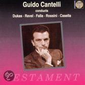 Guido Cantelli Conducts Dukas, Ravel, Falla, Rossini, etc
