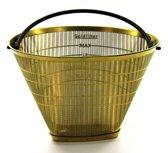 Swiss Zip Goudfilter Nr. 4 koffiefilter - Permanente koffiefilter - Zwart Goud