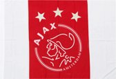 Ajax vlag 150x225cm - wit/rood/wit