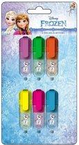 Disney Frozen Mini Markeerstiften - 6 stuks