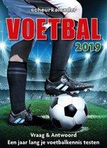 2019 voetbal scheurkalender