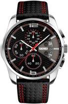 Herenhorloge – Chronograaf – Leather Edition - Men's Watch