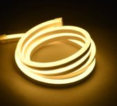 LED Neon Flex Micro Warm Wit 5 meter 6mm x 12mm - Funnylights