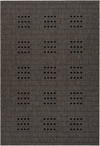 CleanWalk binnen/buiten karpet Kudo taupe 120 x 170 cm