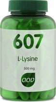 AOV 607 L-Lysine 500 mg 90 vegicaps - Aminozuren