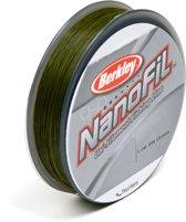 Berkley NanoFil Low Visual Green - Gevlochten lijn - 0.15 mm - 7.659 kg - 270 m