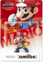Nintendo amiibo Super Smash Figuur Mario - Wii U + NEW 3DS