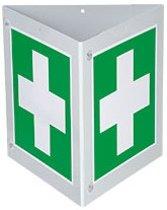 Triarama Eerste Hulp, ASR/ISO, 3-zijdig, kunststof, 250x250mm