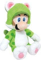 Super Mario Bros.: Cat Luigi 35 cm Knuffel