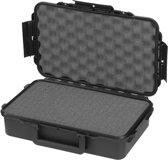 Gaffergear camera koffer 04 zwart  -  incl. plukschuim    -  23,00   x 8,60  x 8,60  cm (BxDxH)