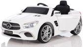 "Kinderauto - elektrische auto ""Mercedes SL400"" - licentie - 2x 6V4.5AH batterij, 2 motoren 2,4 GHz afstandsbediening, MP3 + lederen zetel + EVA"