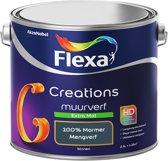 Flexa Creations - Muurverf Extra Mat - 100% Marmer - Mengkleuren Collectie- 2,5 Liter