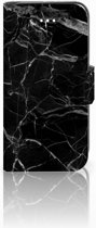 Apple Iphone 5 | 5s | SE Uniek Ontworpen Hoesje Marmer Zwart