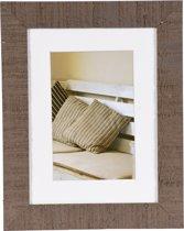 Henzo Driftwood Fotolijst - Fotomaat 15x20 cm -  Bruin