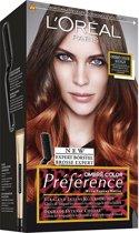 L'Oréal Paris Préférence 7.4 Color Mango - Bruin - Haarkleuring