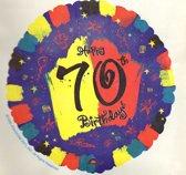 folie ballon - 70 jaar